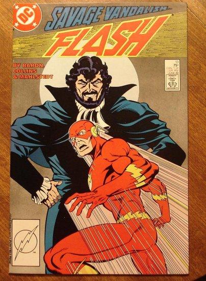 DC Comics - The Flash #13 comic book (1980's series)