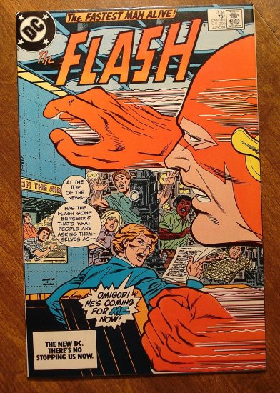 The Flash #334 comic book - DC Comics