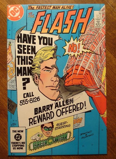 The Flash #332 comic book - DC Comics
