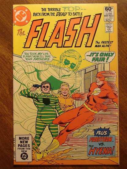 The Flash #303 comic book - DC Comics