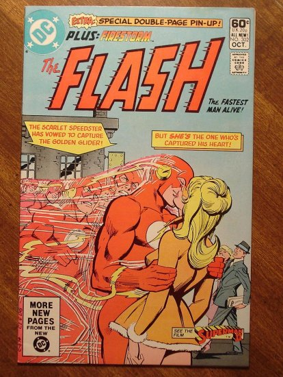 The Flash #302 comic book - DC Comics