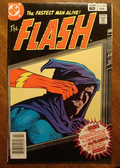 The Flash #318 comic book - DC Comics