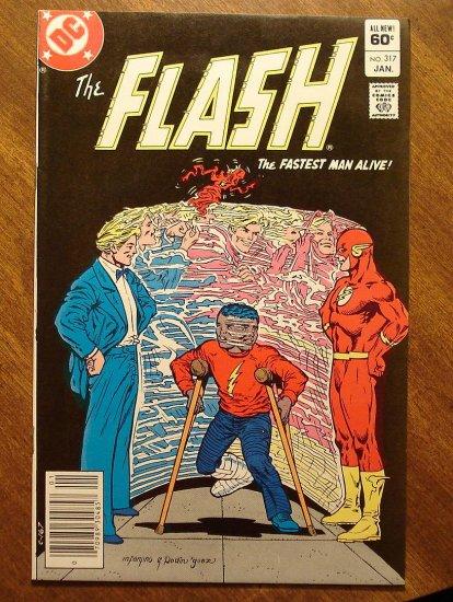 The Flash #317 comic book - DC Comics
