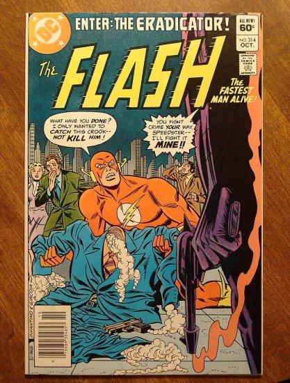 The Flash #314 comic book - DC Comics