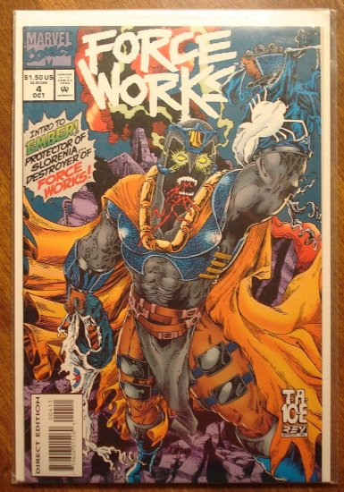 Force Works #4 comic book - Marvel Comics