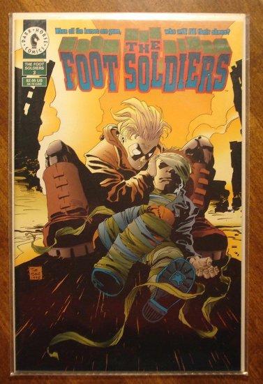 Foot Soldiers #3 comic book - Dark Horse Comics (footsoldiers)