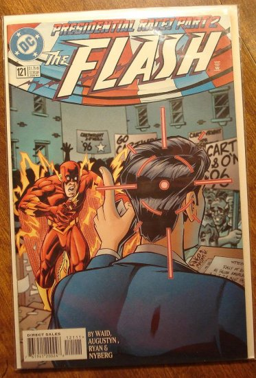 DC Comics - The Flash #121 comic book (1980's series)