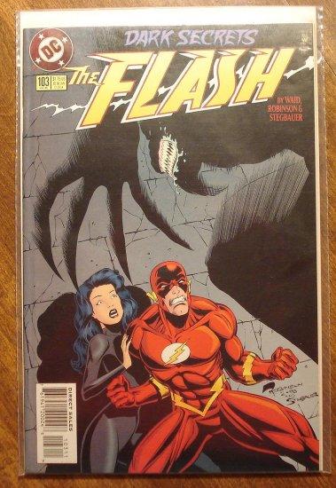 DC Comics - The Flash #103 comic book (1980's series)