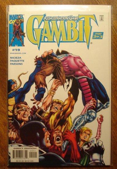 Gambit #19 comic book - Marvel comics