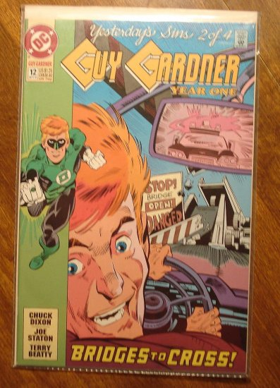 Guy Gardner #12 comic book - DC Comics - Green Lantern