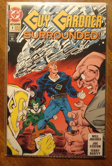 Guy Gardner #9 comic book - DC Comics - Green Lantern