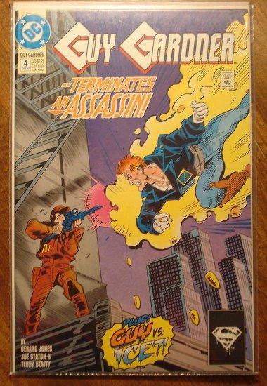 Guy Gardner #4 comic book - DC Comics - Green Lantern