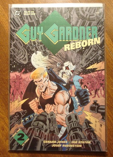 Guy Gardner Reborn #2 deluxe format comic book - DC Comics - Green Lantern