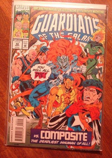 Guardians of the Galaxy #40 comic book - Marvel comics