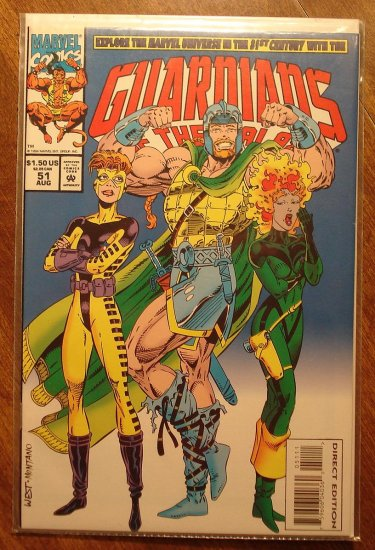 Guardians of the Galaxy #51 comic book - Marvel comics