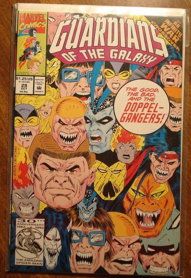 Guardians of the Galaxy #29 comic book - Marvel comics