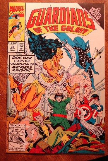 Guardians of the Galaxy #28 comic book - Marvel comics