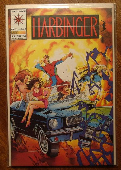 Harbinger #24 comic book - Valiant comics