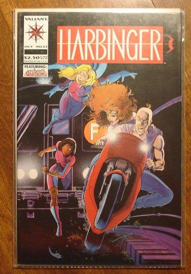 Harbinger #22 comic book - Valiant comics