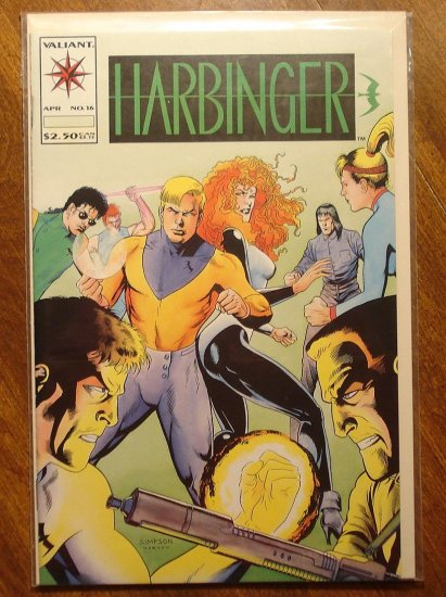 Harbinger #16 comic book - Valiant comics