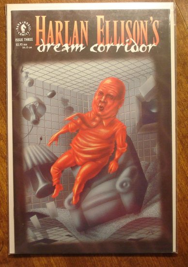 Harlan Ellison's Dream Corridor #3 comic book - Dark Horse comics