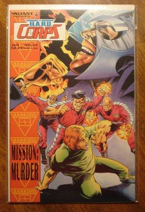 The Hard Corps #25 comic book - Valiant comics