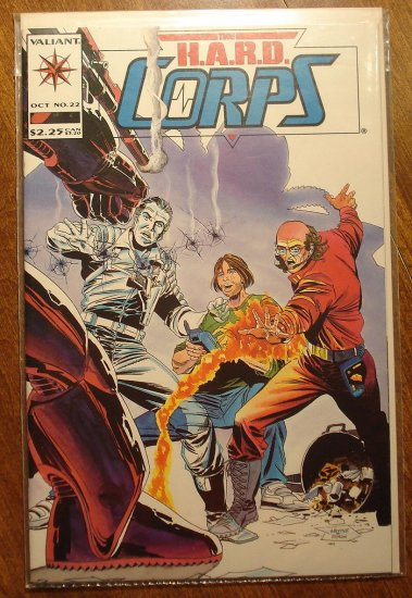 The Hard Corps #22 comic book - Valiant comics