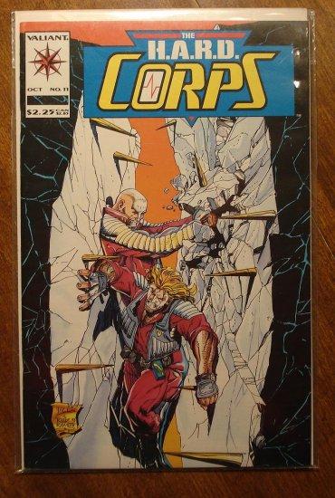 The Hard Corps #11 comic book - Valiant comics