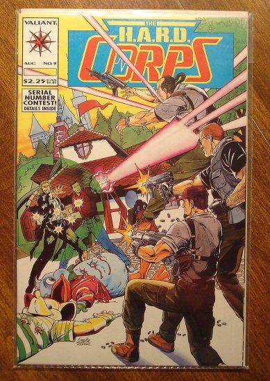 The Hard Corps #9 comic book - Valiant comics