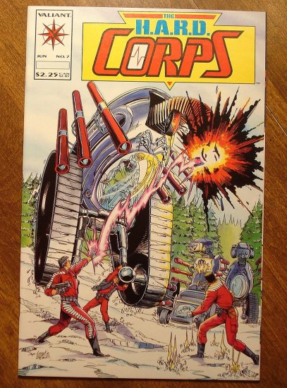 The Hard Corps #7 comic book - Valiant comics