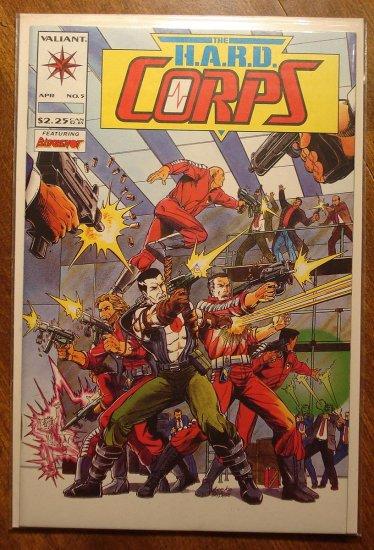 The Hard Corps #5 comic book - Valiant comics