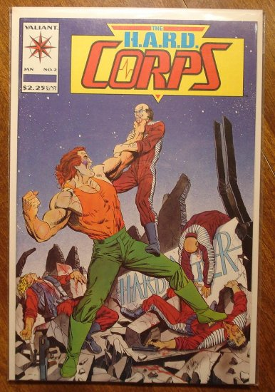The Hard Corps #2 comic book - Valiant comics