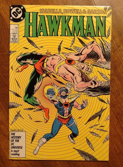 Hawkman #7 (1980's) comic book - DC Comics