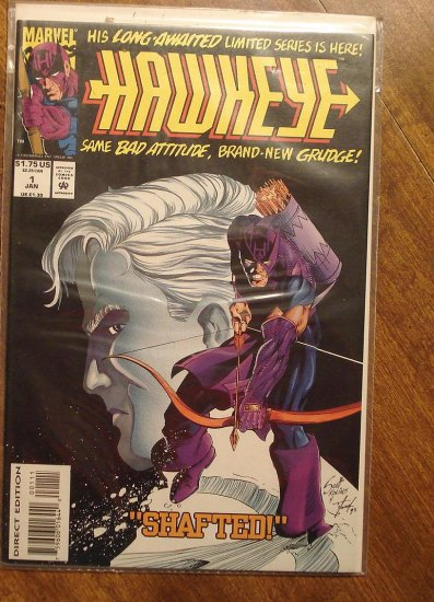 Hawkeye #1 (1994 mini series) comic book - Marvel Comics