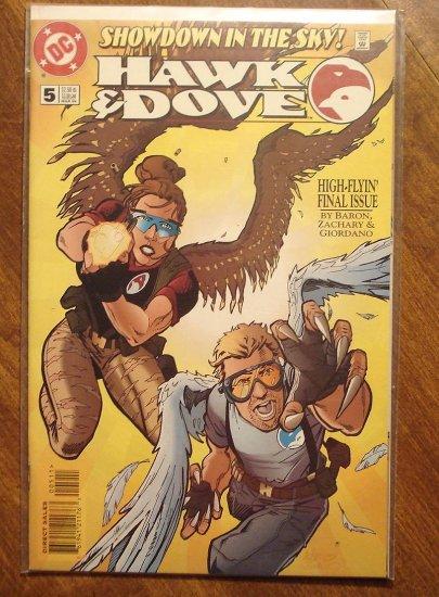 Hawk & Dove #5 (1990's) comic book - DC Comics