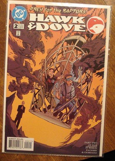 Hawk & Dove #2 (1990's) comic book - DC Comics
