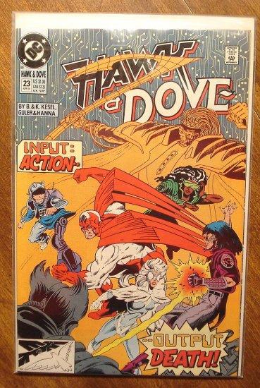 Hawk & Dove #23 (1980's series) comic book - DC Comics