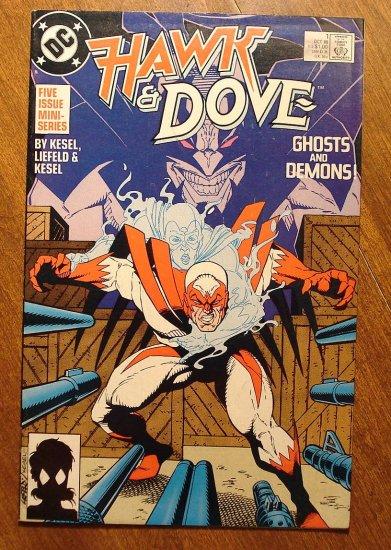 Hawk & Dove #1 (1980's mini-series) comic book - DC Comics