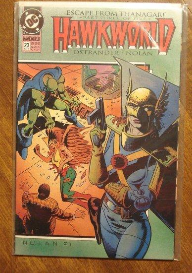Hawkworld #23 comic book - DC Comics