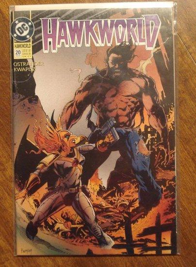 Hawkworld #20 comic book - DC Comics