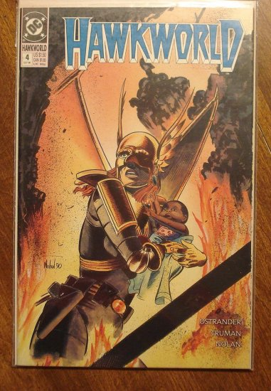 Hawkworld #4 comic book - DC Comics