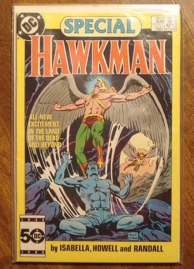 Hawkman Special #1 (1986) comic book - DC Comics