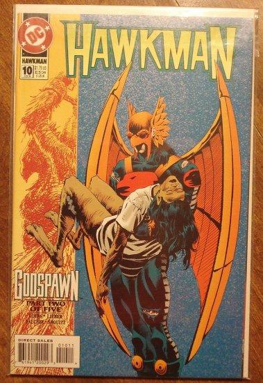 Hawkman #10 (1990's) comic book - DC Comics