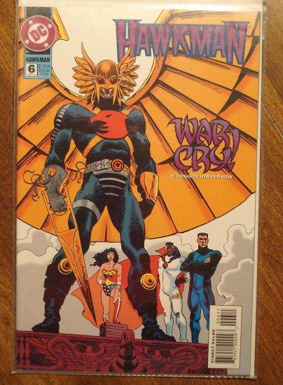 Hawkman #6 (1990's) comic book - DC Comics