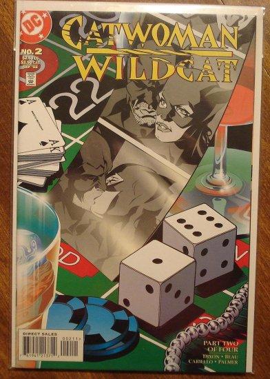 Catwoman / Wildcat #2 comic book - DC Comics