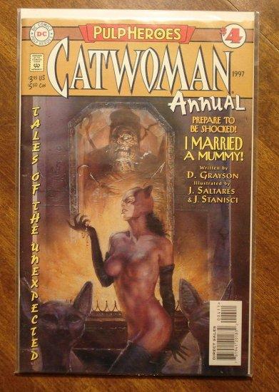 Catwoman Annual #4 comic book - DC Comics