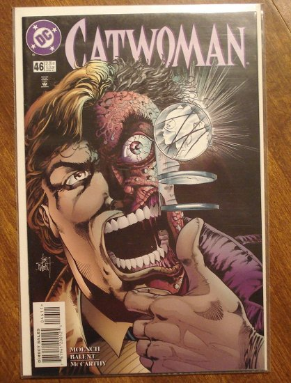 Catwoman #46 comic book - DC Comics