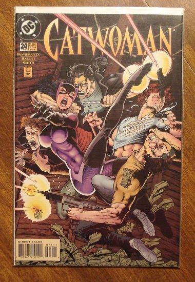 Catwoman #24 comic book - DC Comics