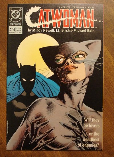Catwoman #4 (mini-series) comic book - DC Comics