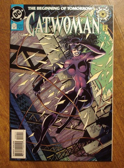 Catwoman #0 comic book - DC Comics